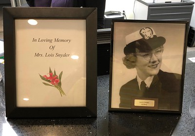Lois Snyder's Memorial At Her Home The Mansions 5/5/18