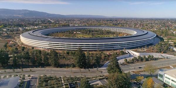 "Apple's New Corporate Headquarters, Apple Park ""The Mothership"" Cupertino, California"