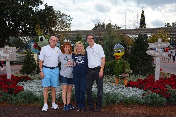 Russell & Ann Bellmor and Kathy Collier & Tom O'Barr Disney World December 2018 12