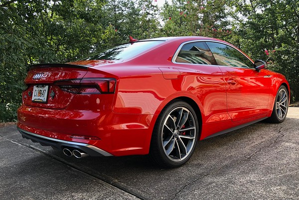 Russell's 2018 Audi S5 After Wheel & Calipers Coating 8/15/18 07
