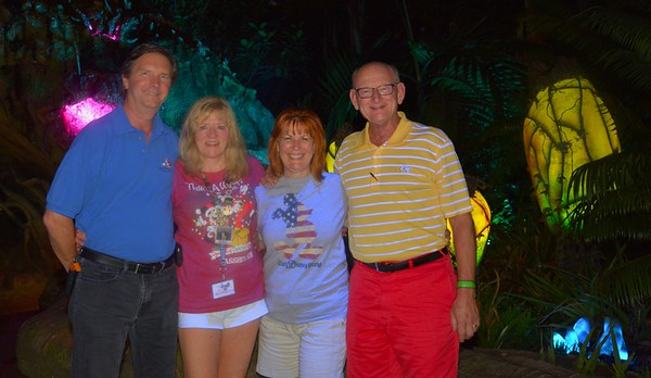Tom O'Barr & Kathy Collier and Ann & Russell Bellmor Disney World December 2018 14