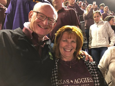 Ann & Russell Bellmor @ Texas A&M vs LSU Football Game (7) Overtimes 11/24/18