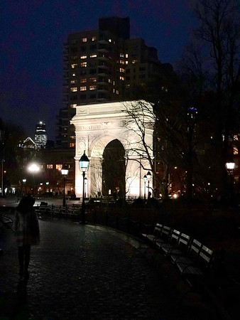Washington Square Arch Morgan's Trip To New York City March 2018 01