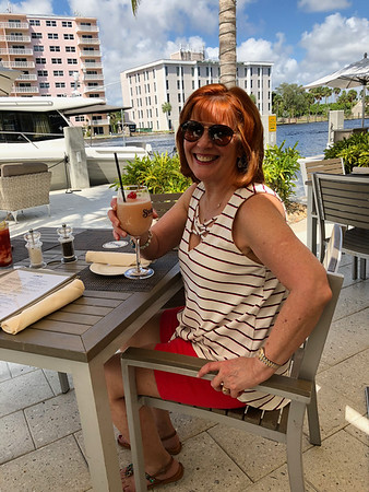 Ann Bellmor At Shooters Restaurant On Intracoastal Fort Lauderdale, FL 9-28-18