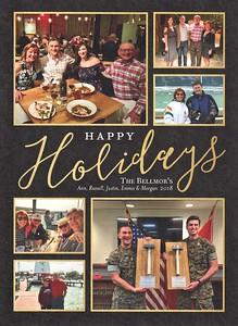 Bellmor's  Christmas Card Front