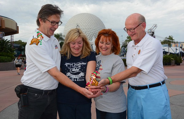 Tom O'Barr & Kathy Collier and Ann & Russell Bellmor Disney World December 2018 10
