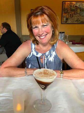 Ann Bellmor With Her Chocolate Martini 8-26-18