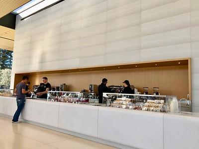 Apple Cafe Inside The Visitors Center Apple Park 2-13-18