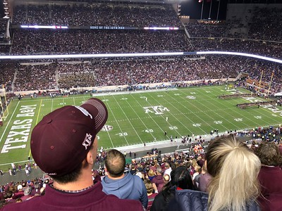 Texas A&M vs LSU Football Game (7) Overtimes 11/24/18 01