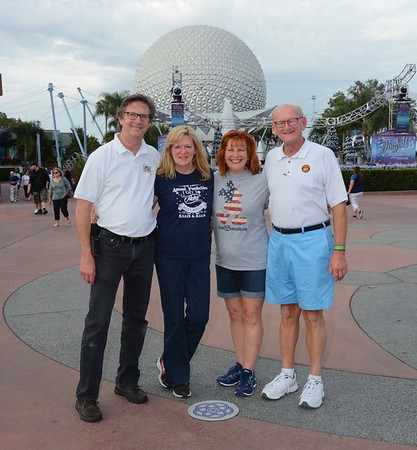 Tom O'Barr & Kathy Collier and Ann & Russell Bellmor Disney World December 2018 11