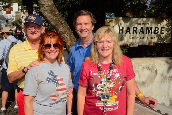 Ann & Russell Bellmor and Kathy Collier & Tom O'Barr Disney World December 2018 13