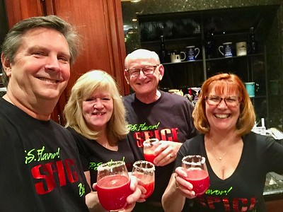 Tom O'Barr, Kathy Collier, Russell & Ann Bellmor Galentine's Dinner 2-17-18