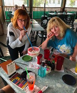 Ann Bellmor & Kathy Collier Sunset Bar & Grille Marathon Florida Keys January 2018