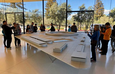 Apple Park's Visitors Center Augmented Reality Of Campus February 2018