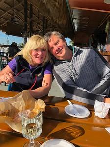 Kathy & Tom O'Barr Burdines Restaurant Marathon Florida Keys January 2018