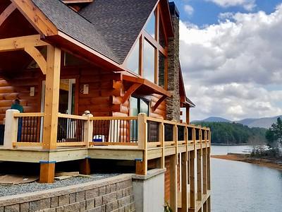 Kathy & Tom's Blue Ridge Lake House February 2018