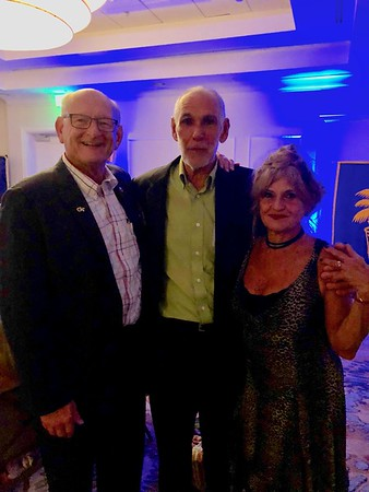 Russell Bellmor With Mark & Marcia Benkert At PBSHS 50th Class Reunion 9-29-18
