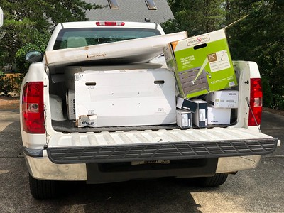 Exhibits South's Pickup Russell Used To Pickup Bathroom Remodeling Supplies 8-24-18 02