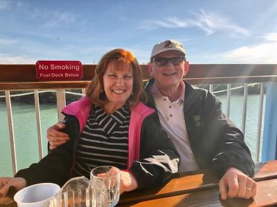 Ann & Russell Bellmor Burdines Restaurant Marathon Florida Keys January 2018