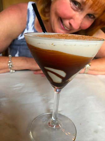 Ann Bellmor With Her Chocolate Martini 8-26-18 02