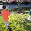 Eli and Ezra still enjoy hunting for eggs!