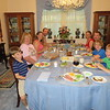 Bryan, Grandma, Jenny, Chris, Crystal, Chad, Matthew, Spencer, Easter dinner with Dewig's ham at Grandma and Grandpa's, 4/1/2018
