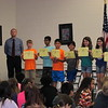 Honor Award show at Ridgecrest, Spencer made principal's List (all A's) for 2nd time. So proud of him! 2/8/2018