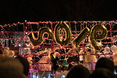 2018 Greenwich Annual Holiday Lighted Tractor Parade