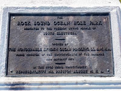 Rock Sound Ocean Hole Park, Eleuthera, Bahamas