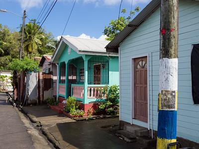 Anse La Raye fishing village, St. Lucia