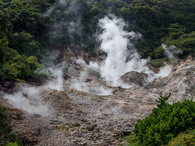 Drive-In Volcano, Soufriere, St. Lucia