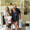 Jill, Jason, Bria, Becca, Bella Block, their new home, Milton, GA, 5/20/2018