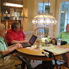 Frank, Ken, Doug at Doug's home, Mooresville, NC, 5/24/2018