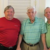 Ken age 70, Frank age 96, Doug age 66, Frank's home, Mooresville, NC, 5/24/2018