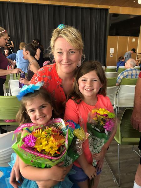Jamey, Lillie, Olivia, Lillie's dance recital, GA, 5/19/2018