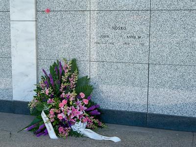 2018 Mildred Nosko funeral