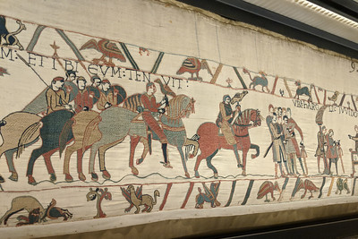 Bayeux Tapestry depicting Norman Invasion