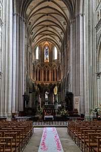 Norman gothic cathedral