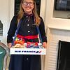Neighbor's granddaughter on Halloween
