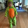 Dinosaur Jon on Halloween