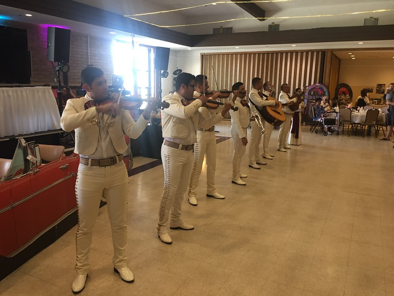It wouldn't be a party without Mariachi's.