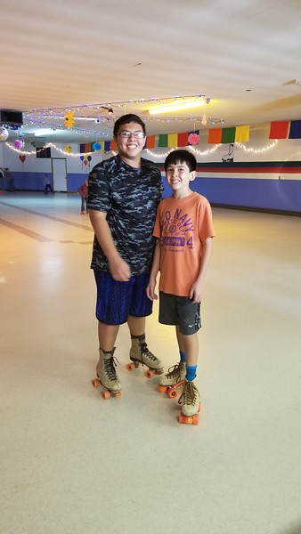 2018-04-29 Dylan Birthday Party Skating