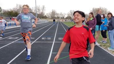 2018-05-02 Dylans last grade school track meet