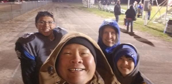 2018-10-12 AJ Football