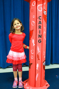 "So proud of my sweet girl!  She was recognized for the character pillar of ""caring"" at school today!"