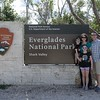 Our first family of four national park sign pic