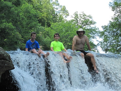 Family visit to Long Creek - July