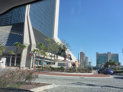 Andrew Jackson statue in Jacksonville.