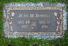 Howell Gravestones. Jean M. Howell.