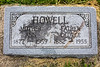 Howell Gravestones. George & Ann Howell.
